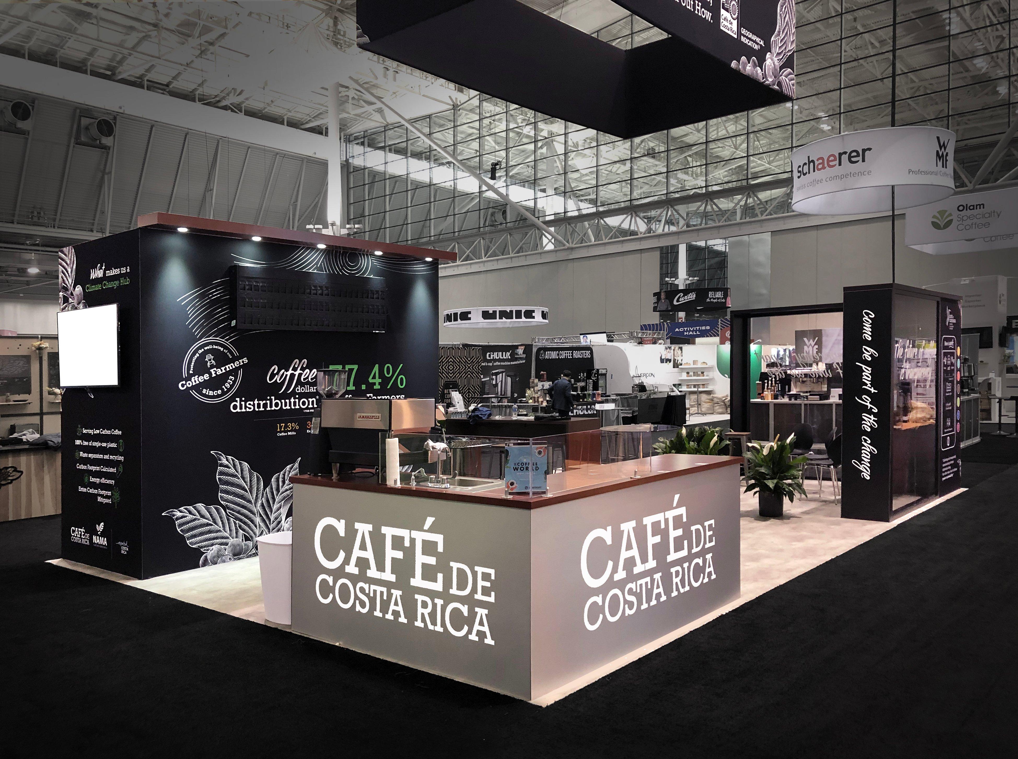 Image of Cafe De Costa Rica Trade Show booth