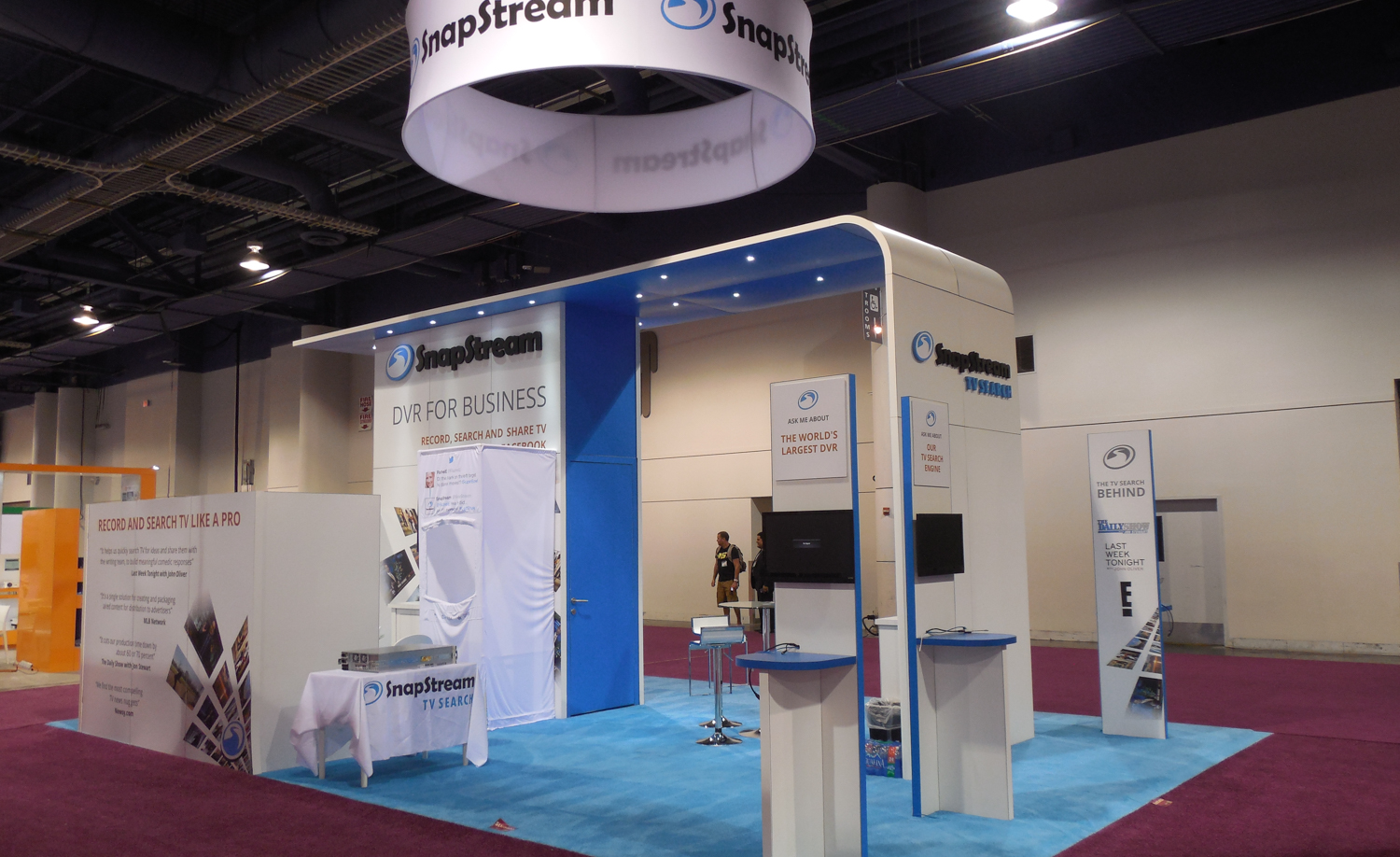 SnapStream Showfloor