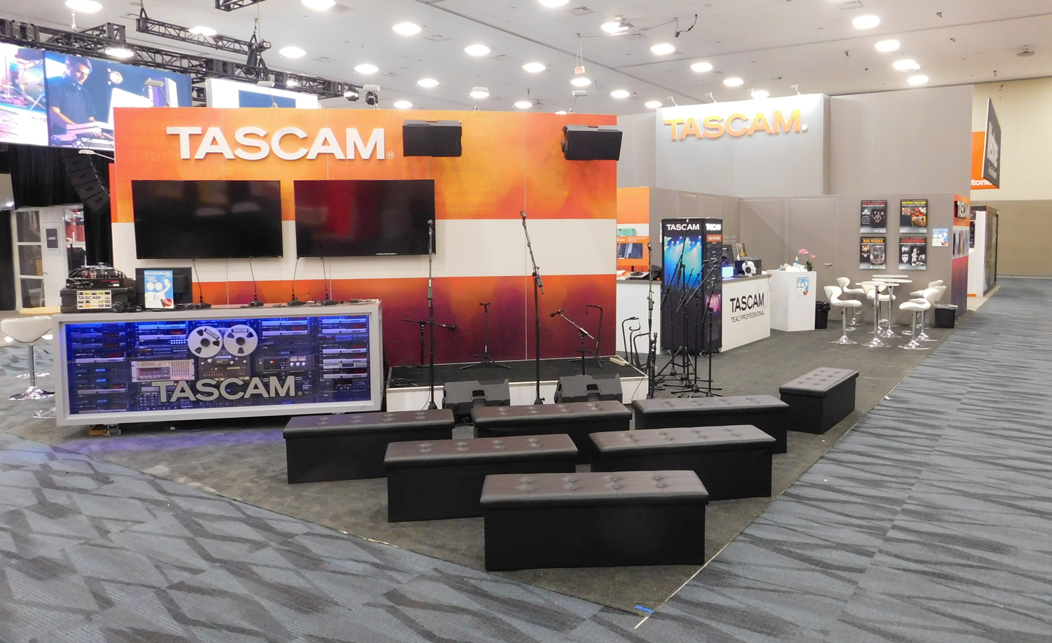 Tascam Showroom