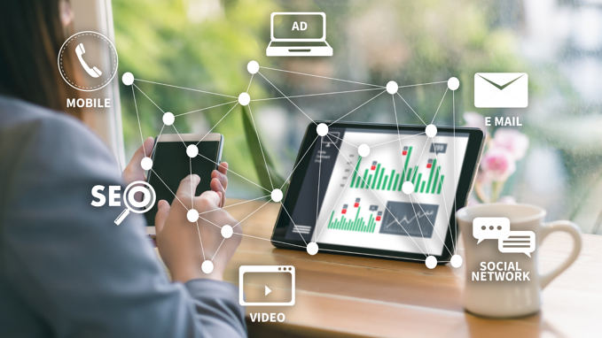 A connect the dots model of a virtual trade show marketing strategy