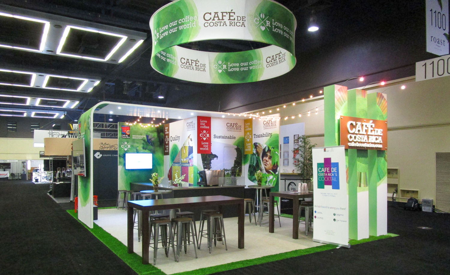 Cafe De Costa Rica Showroom