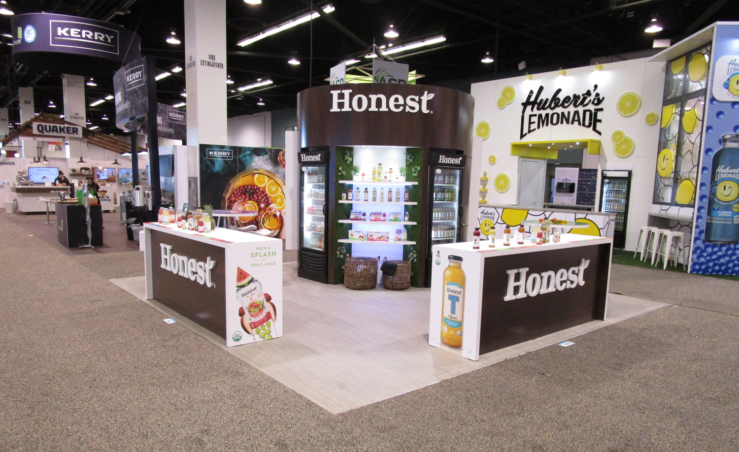 Honest Tea Showfloor