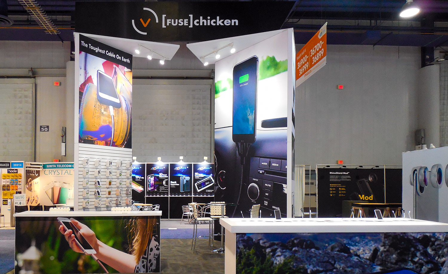 Fuse Chicken Showfloor