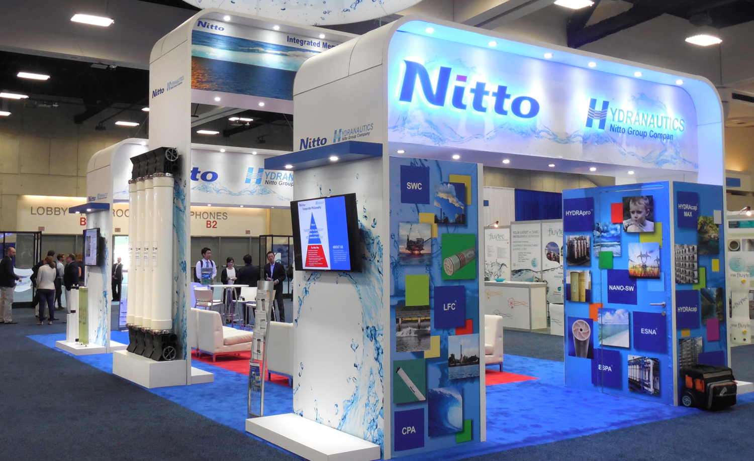 Hydranautics Showfloor